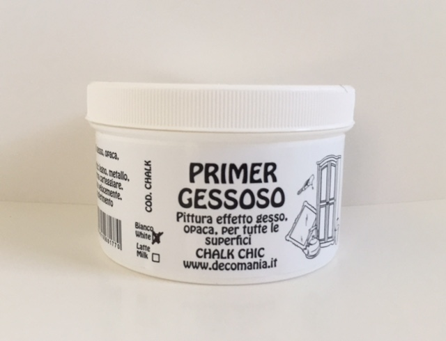 Primer Gessoso (CHALK CHIC) color bianco/white