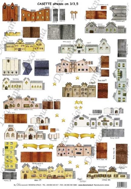 Casette piccole 00ca1001 deco chic carte for Piccole case a prezzi accessibili da costruire