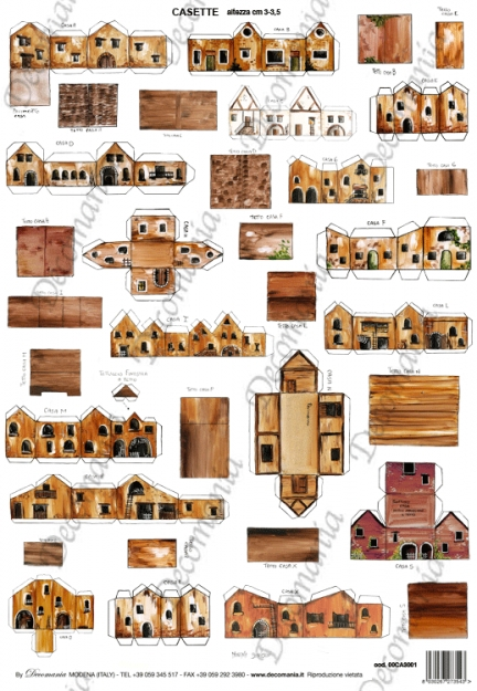 Casette in cartoncino 00ca3001 deco chic for Progetto casa fai da te
