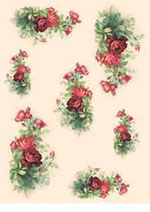 DECO 5058 rose rosse
